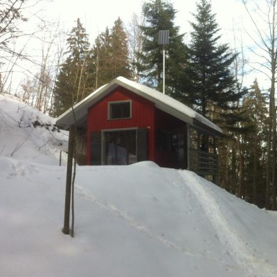 Ansicht Süd Winter